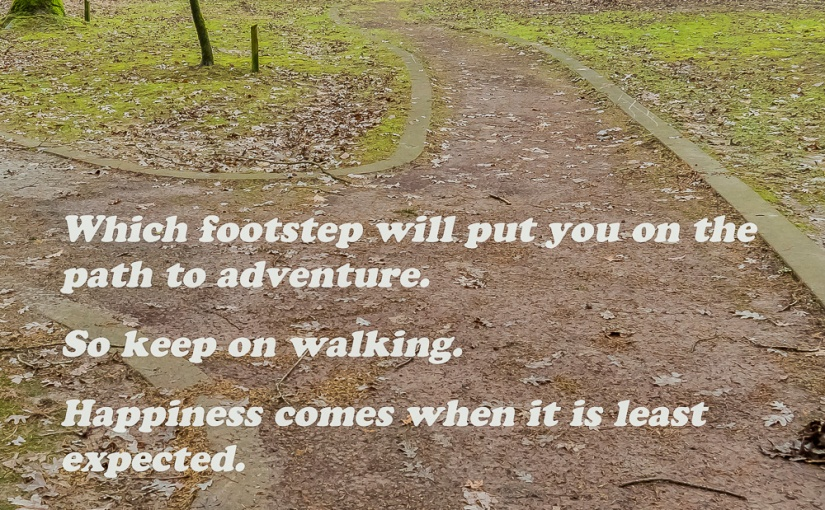 Which footstep will …