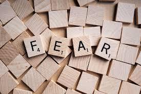 """""""F"""" word #2 –Fear"""