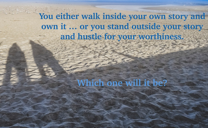 You either walk…
